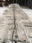 Hewn Marks in a Reclaimed Beam