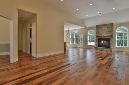 Reclaimed Oak Flooring, sorted for darker colors