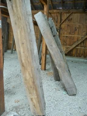 Reclaimed Pine Beam Mantle