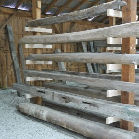 Reclaimed wood offers beauty, rustic charm, and warm natural tones.