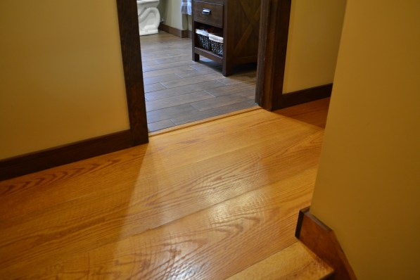 Classic Wide Plank Oak Flooring