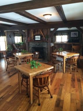 Reclaimed Oak Restaurant Tables