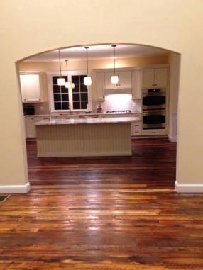 Rustic Reclaimed Oak Floors