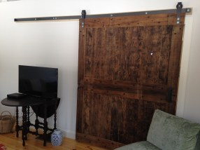 Rustic Reclaimed Sliding Barn Door