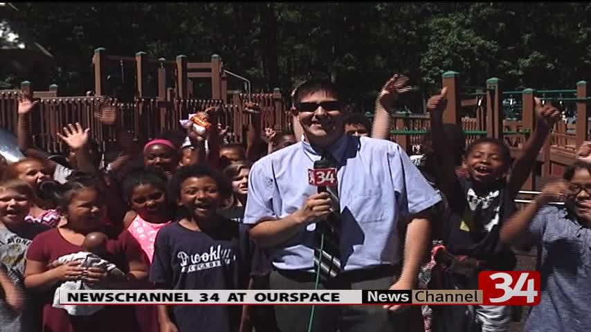 NewsChannel 34 volunteers at OurSpace at Recreation Park_60218531-159532