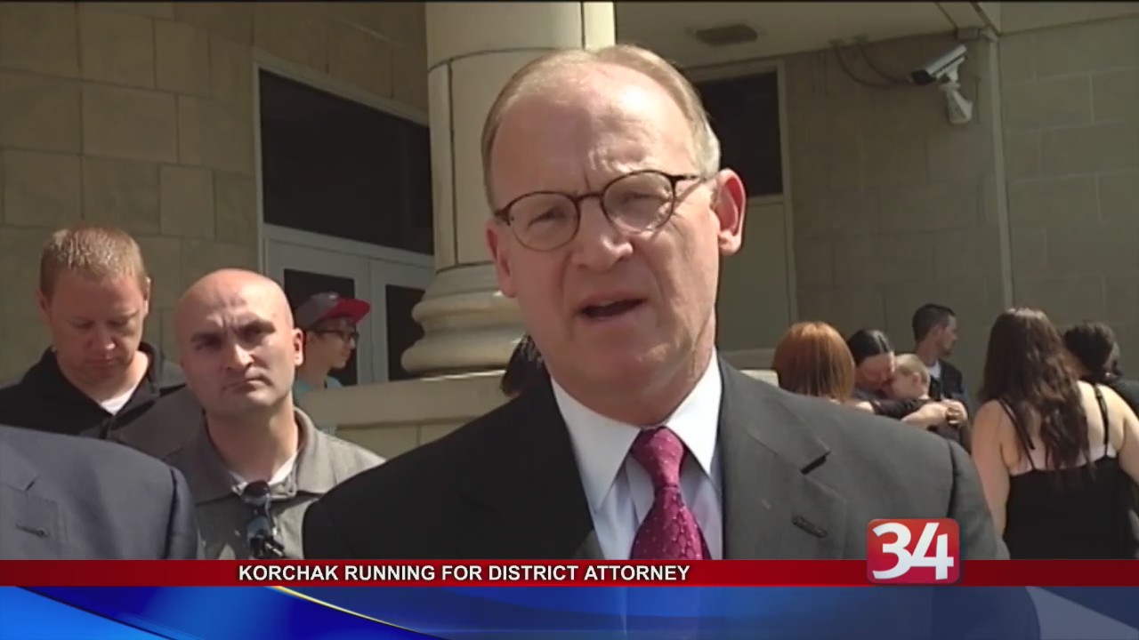 Mike Korchak announces he's running for District Attorney
