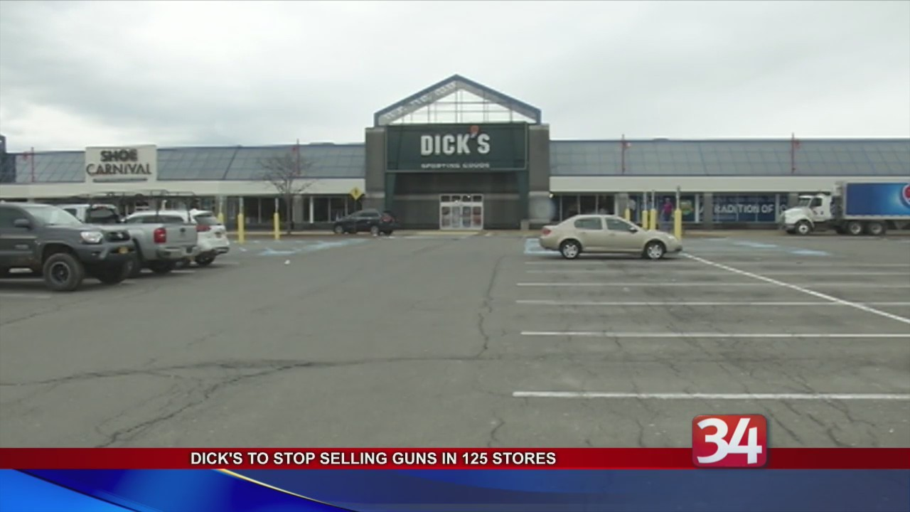 Dick's Ends Gun Sales