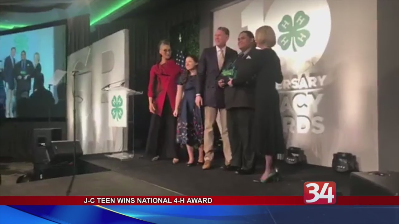 Teen Wins 4H's Highest Honor