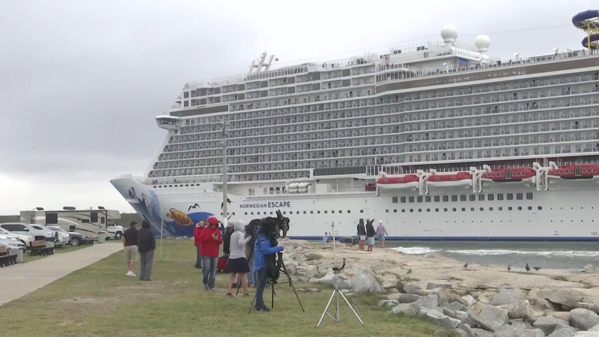 Tilted Cruise Ship Story