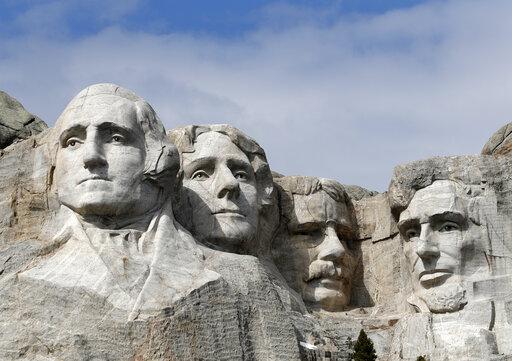 Mount Rushmore, Mount rushmore