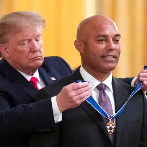 Donald Trump, Mariano Rivera
