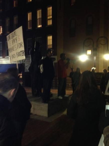 Grad Student Protest