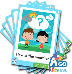 How Is The Weather ? - Flashcard pack