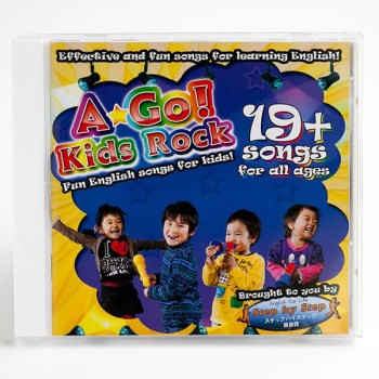BINGOBONGO Rock Vol. 1 CD ESL Songs
