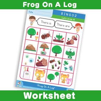 Frog On A Log - Bingo 2