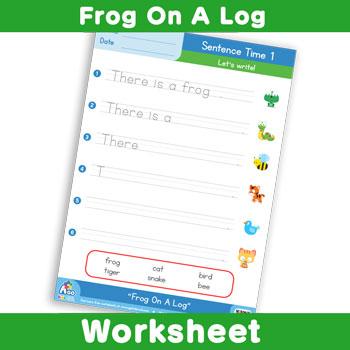 Frog On A Log - Sentence Time 1