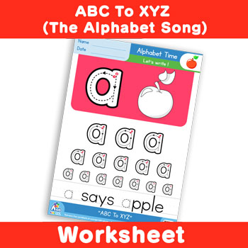 ABC To XYZ (The Alphabet Song) - Lowercase a