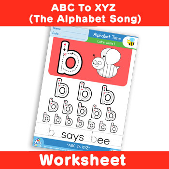 ABC To XYZ (The Alphabet Song) - Lowercase