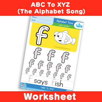 ABC To XYZ (The Alphabet Song) - Lowercase f