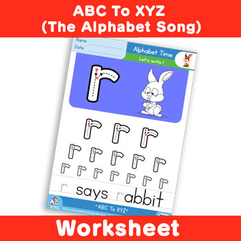 ABC To XYZ (The Alphabet Song) - Lowercase r