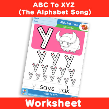 ABC To XYZ (The Alphabet Song) - Lowercase y