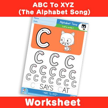 ABC To XYZ (The Alphabet Song) - Uppercase C