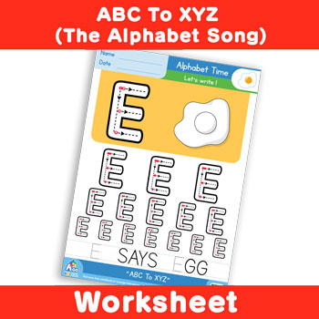ABC To XYZ (The Alphabet Song) - Uppercase E