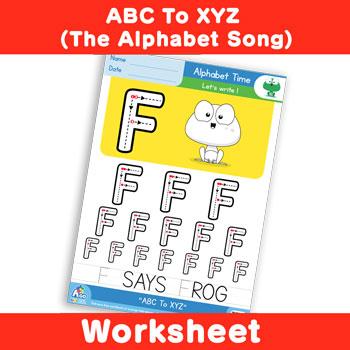 ABC To XYZ (The Alphabet Song) - Uppercase F