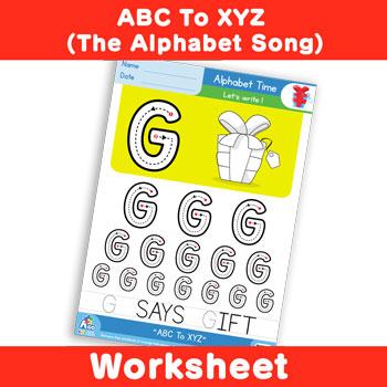 ABC To XYZ (The Alphabet Song) - Uppercase G