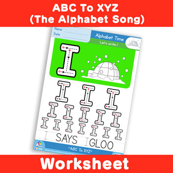 ABC To XYZ (The Alphabet Song) - Uppercase I