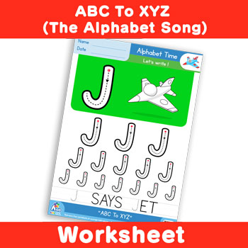 ABC To XYZ (The Alphabet Song) - Uppercase J