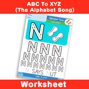 ABC To XYZ (The Alphabet Song) - Uppercase N