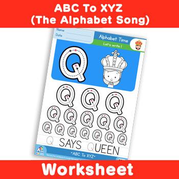 ABC To XYZ (The Alphabet Song) - Uppercase Q