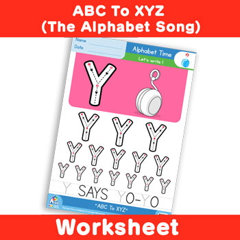 ABC To XYZ (The Alphabet Song) - Uppercase Y
