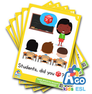 Did You Do Your Homework? ESL Educational Flashcards