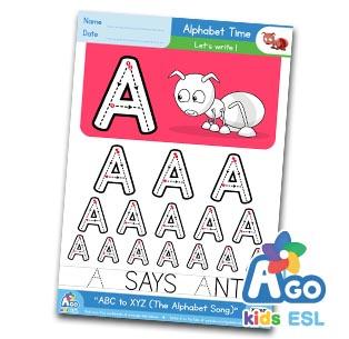 alphabet number writing practice esl worksheet pack bingobongo. Black Bedroom Furniture Sets. Home Design Ideas