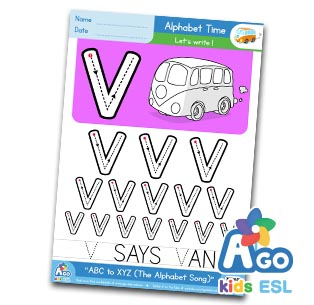 Alphabet Number Practice v