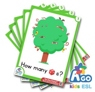 How Many Monkeys Flashcards