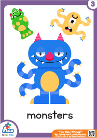 How Many Witches? - monsters