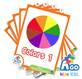 Free ESL Flashcards - Colors