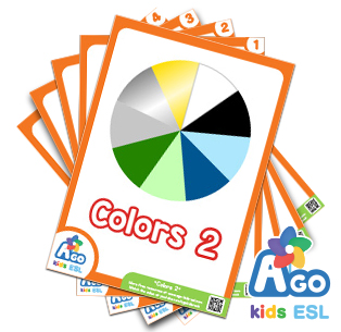 Advanced Colors Free ESL Flashcard Set