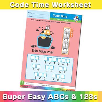 Alphabet ABC decoder worksheet i