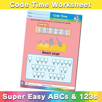Alphabet ABC decoder worksheet s