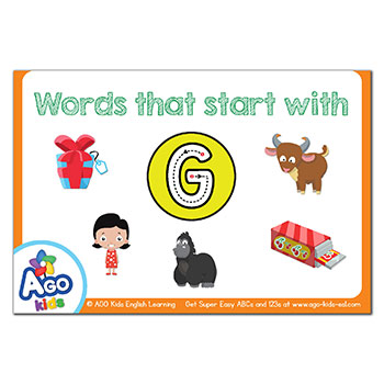 FREE Flashcards that start with the letter G
