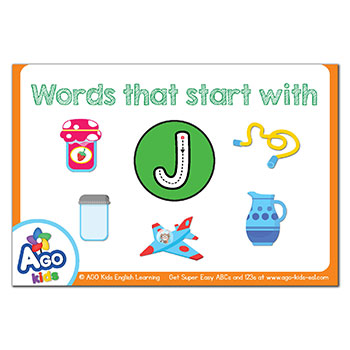 FREE Flashcards that start with the letter J