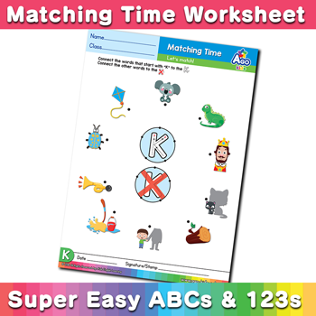 Words starting with k simple phonics matching time free esl words starting with k simple phonics matching time free esl worksheet ibookread ePUb