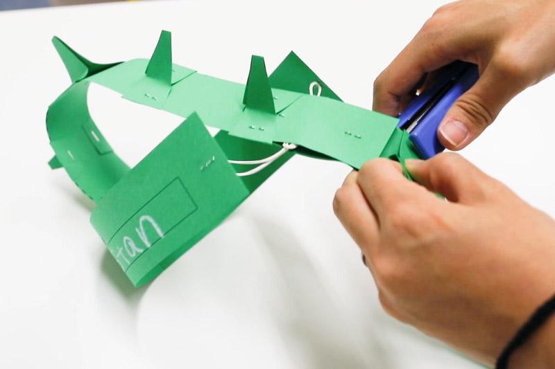 diy paper craft hats instructions