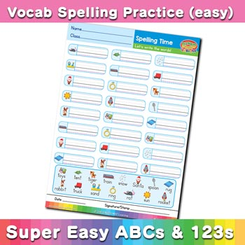 free esl spelling worksheet r s t