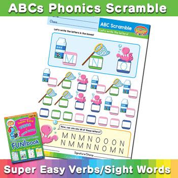 Free Phonics Scramble Worksheet