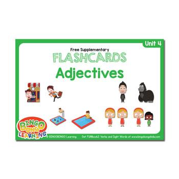 Unit 4 flashcard adjectives